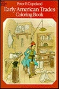 Coloring Book - Early American Trades