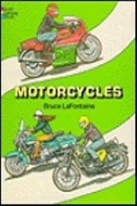 Coloring Book - Motorcycles