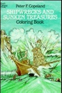 Coloring Book - Shipwrecks & Sunken Treasures