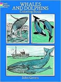 Coloring Book - Whales & Dolphins