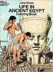 Coloring Book - Life in Ancient Egypt