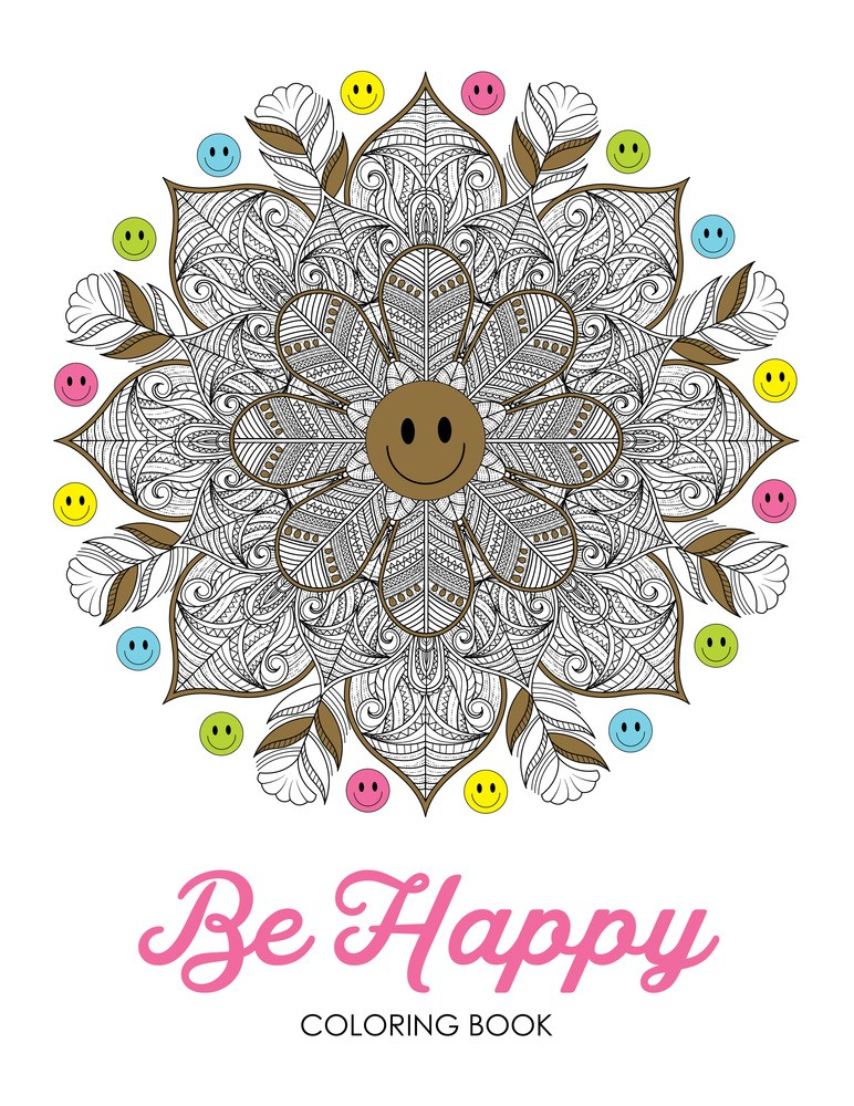 Be Happy (Coloring Book)
