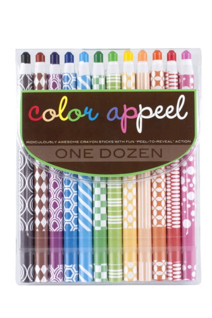 Color Appeel Crayons (12 colors)