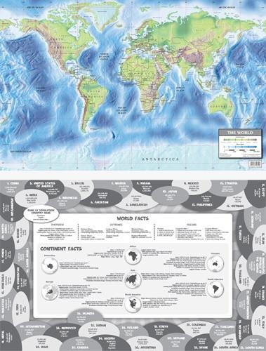 Map: World Double-Sided PlaceMap