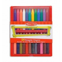 Crayon - Triangular Set of 24