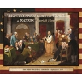 The First Prayer in Congress - Puzzle (500 pieces)