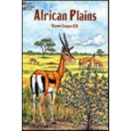 Coloring Book - African Plains