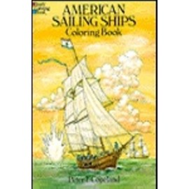 Coloring Book - American Sailing Ships