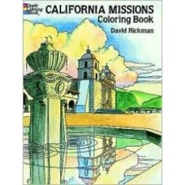 Coloring Book - California Missions