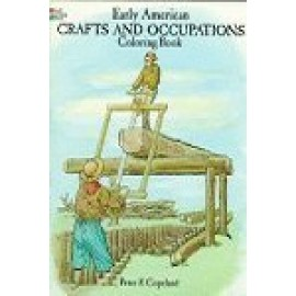 Coloring Book - Early American Crafts/Occupations
