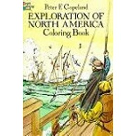 Coloring Book - Exploration of North America