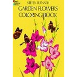 Coloring Book - Garden Flowers