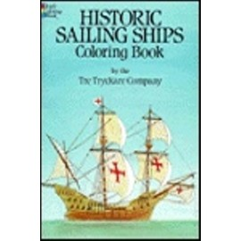 Coloring Book - Historic Sailing Ships