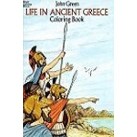 Coloring Book - Life in Ancient Greece
