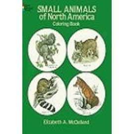 Coloring Book - Small Animals of North America