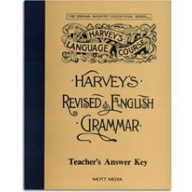 Harvey's Revised English Grammar - Teacher's Answer Key