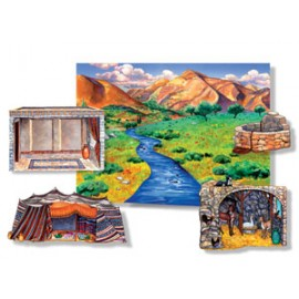 Felt Story: Hillside Scenery Board & Overlays