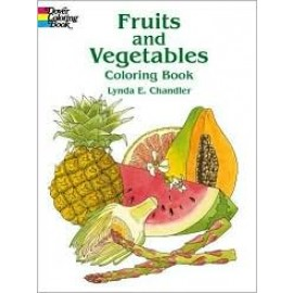 Coloring Book - Fruits and Vegetables