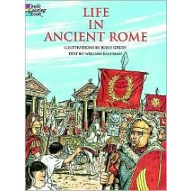 Coloring Book - Life in Ancient Rome