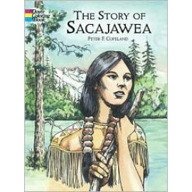 Coloring Book - Story of Sacajawea