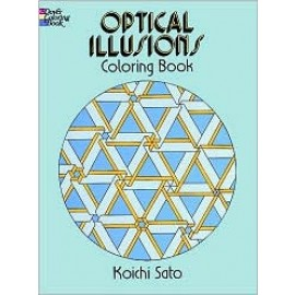 Coloring Book - Optical Illusions