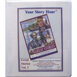 Your Story Hour - Great Stories, Vol. 3  Activity Book