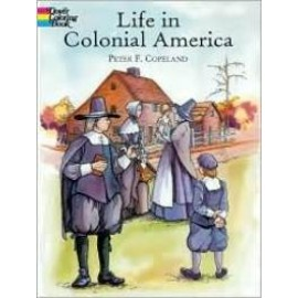 Coloring Book - Life in Colonial America