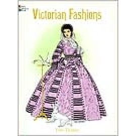 Coloring Book - Victorian Fashions