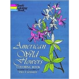 American Wild Flowers (Coloring Book)