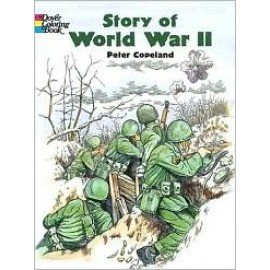 Coloring Book - Story of World War II