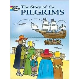 The Story of the Pilgrims (Coloring Book)