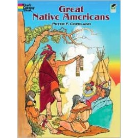 Coloring Book - Great Native Americans