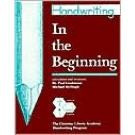 Handwriting: In the Beginning (Grade K)