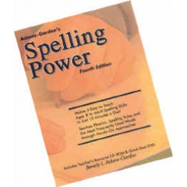 Spelling Power (bound w/DVD)