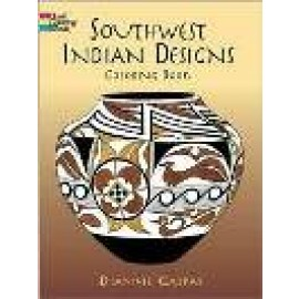 Southwest Indian Designs (Coloring Book)