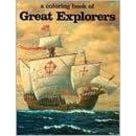 Coloring Book of Great Explorers