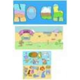 Felt Toggle Book: Noah Obeys & The Adventures of Moses