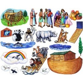 Noah and the Ark - Felt Story