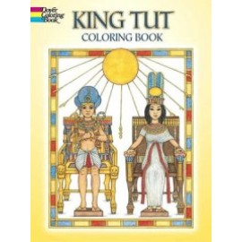 Coloring Book - King Tut