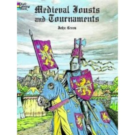 Coloring Book - Medieval Jousts and Tournaments