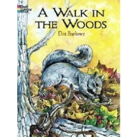 A Walk in the Woods (Coloring Book)