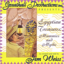 Egyptian Treasures: Mummies and Myths - CD (Abridged)