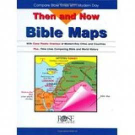 Then and Now Bible Maps - Spiral
