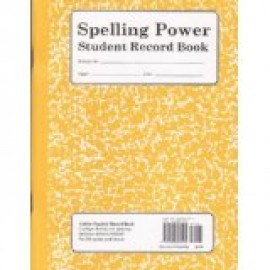Spelling Power Record Book gr. 6 and up (yellow)