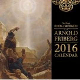 Classic Book of Mormon Art of Arnold Friberg Card Pack 3x4 (12 cards)