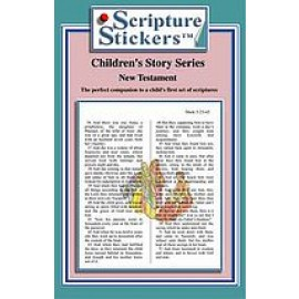 Scripture Stickers Children - New Testament