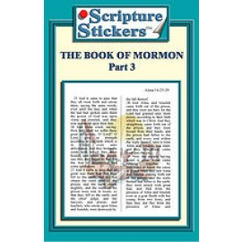 Scripture Stickers Book of Mormon Part 3/50 count