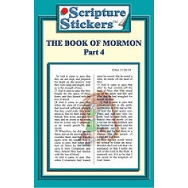 Scripture Stickers Book of Mormon Part 4/71 count