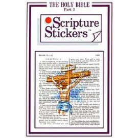 Scripture Stickers Bible Part 3/70 count
