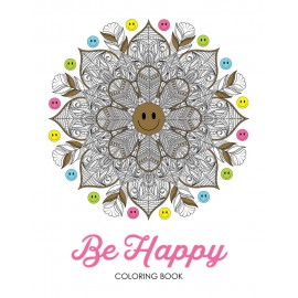 Be Happy Coloring Book